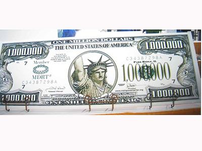 Tờ giấy có mệnh giá 1 triệu USD