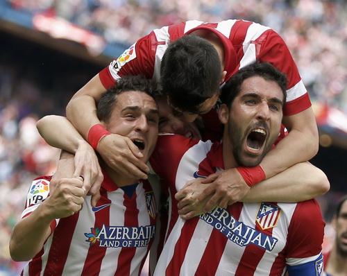 Atletico Madrid từng đá bại Barcelona ở bán kết Champions League hai năm trước