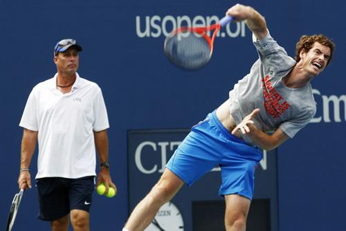 HLV Ivan Lendl chắp cánh cho Murray bay cao ở giải Mỹ mở rộng 2013