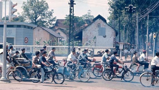 Trước năm 1975, người Sài Gòn đi xe gì?