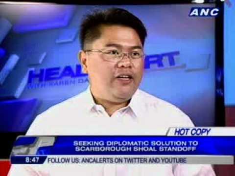 Phát ngôn viên Bộ Quốc phòng Philippines (DND) Peter Paul Galvez. Ảnh: ANG
