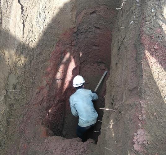 Xác 2 vợ chồng nạn nhân bị vùi sâu hơn 4 m
