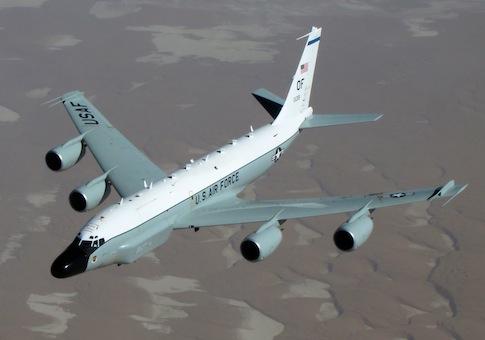 Máy bay trinh sát RC-135. Ảnh: Washington Free Beacon