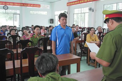 Nguyễn Hoàng Phước bị cơ quan điều tra tạm giữ về hành vi chống người thi hành công vụ.