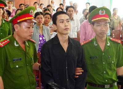 Bị cáo Lê Văn Lập.
