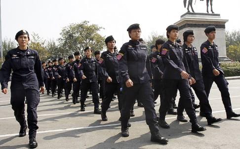 Cảnh sát Thái Lan. Ảnh: Reuters