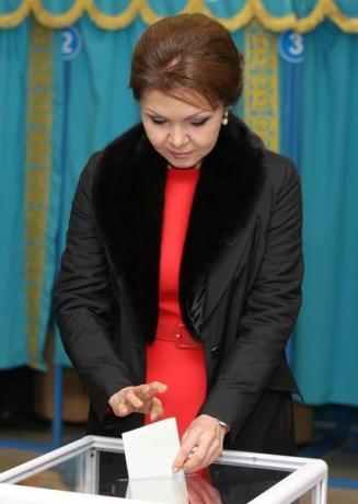 Bà Dariga Nazarbayev. Ảnh: Reuters