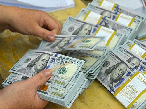 Người nắm giữ USD sẽ chịu nhiều rủi ro nếu tỉ giá được điều hành theo cơ chế mới Ảnh: TẤN THẠNH