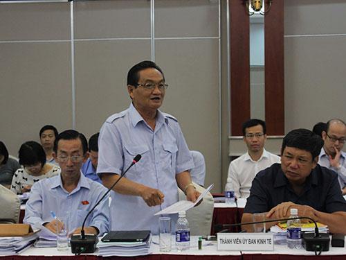 """TS Trần Du Lịch: """"Vấn đề cần bàn nhất là phải đánh giá hiệu quả tái cơ cấu nền kinh tế trong 5 năm qua"""""""