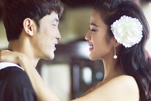 Kim Cương và Hoàng Phúc trong loạt ảnh cưới