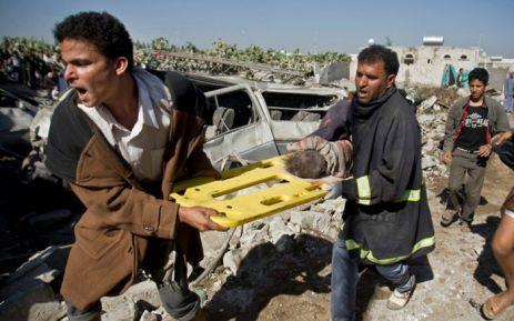 Nhiều dân thường thiệt mạng trong các cuộc không kích ở Yemen. Ảnh: Reuters