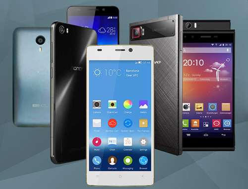 Smartphone Trung Quốc dần khẳng định bằng các sản phẩm tốt mà giá cạnh tranh.