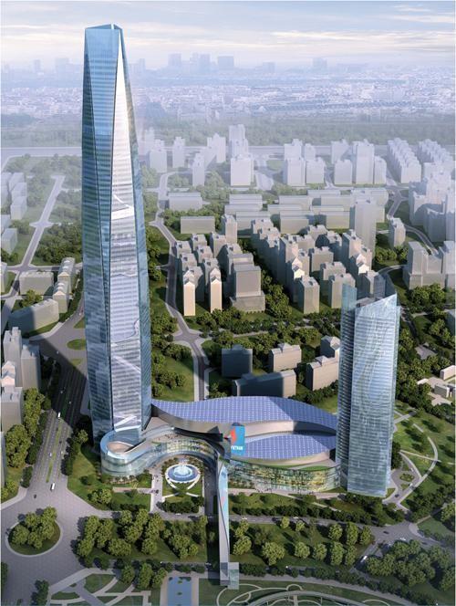 Tòa tháp 102 tầng cũng là dự án có tổng vốn đầu tư 1 tỉ USD và được kỳ vọng là công trình cao nhất Việt Nam nếu hoàn thành.