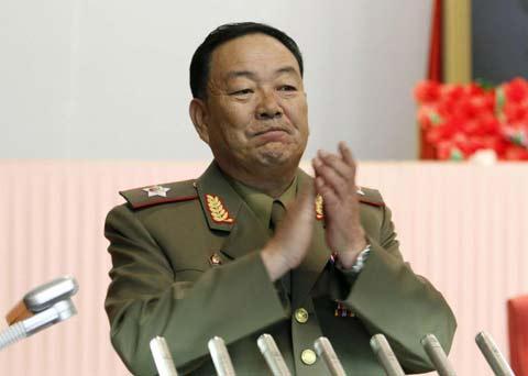 Cựu Bộ trưởng Quốc phòng Triều Tiên Hyon Yong Chol - người từng bị Kim Jong-un xử tử. Ảnh: AP