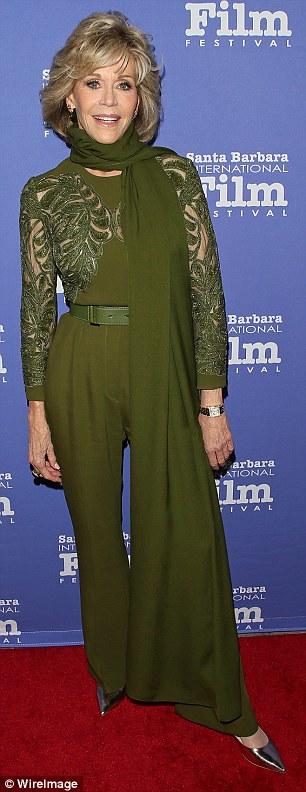 Jane Fonda xinh đẹp ở tuổi 78