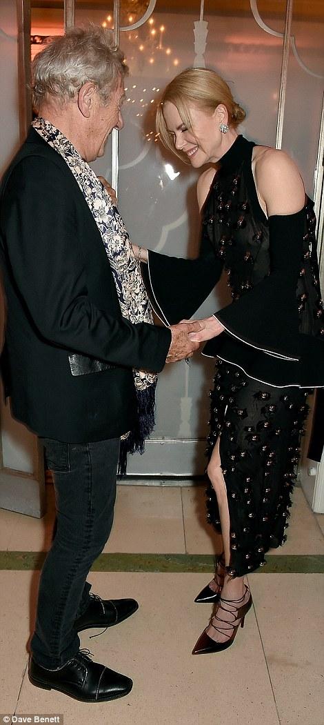 Nicole Kidman cũng nhận được giải Biểu tượng Nhà hát