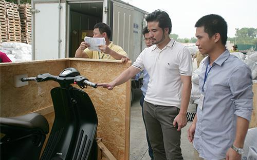 Xe tay ga đắt nhất thế giới của Vespa về Việt Nam 4