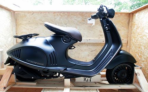 Xe tay ga đắt nhất thế giới của Vespa về Việt Nam 5