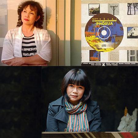 Tranh chấp tác quyền có thể dẫn 2 nhà thơ Phan Ngọc Thường Đoan (ảnh trên) và Phan Huyền Thư ra tòa?