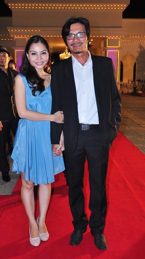 NSƯT Nguyễn Công Ninh và vợ