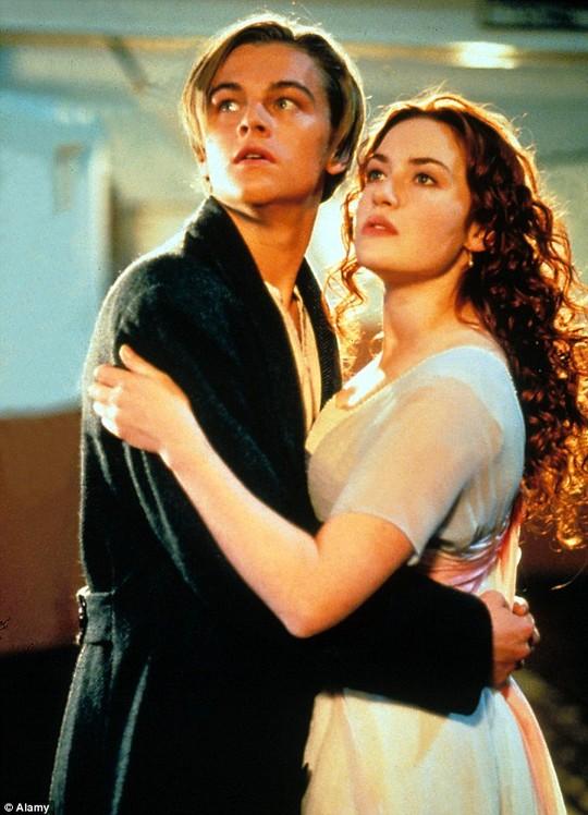 Leonardo DiCaprio trong phim Titanic