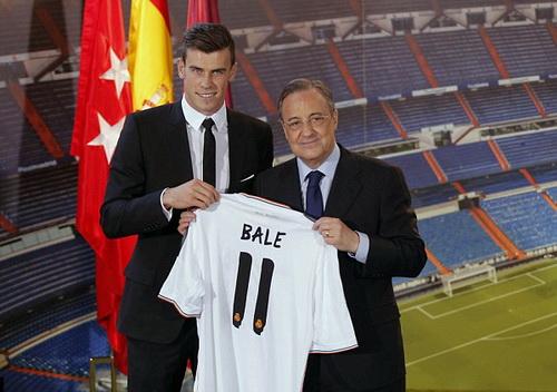 Bản hợp đồng kỷ lục của Gareth Bale tại Real Madrid