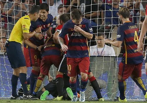 Messi và niềm vui ghi bàn ấn định tỉ số chung cuộc