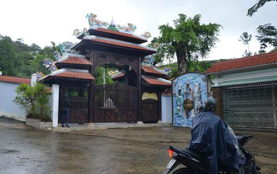 Biệt thự xây trái phép của ông Ngô Văn QuangẢnh: BÍCH VÂN