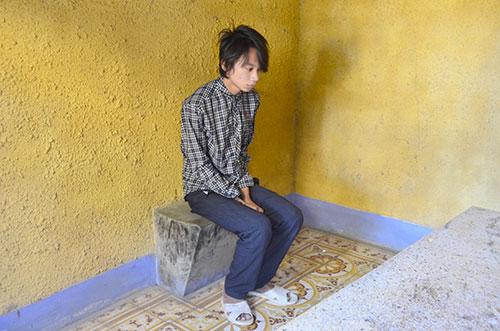 Một đối tượng xâm hại trẻ em tại cơ quan Công an - Ảnh: Báo Bình Thuận