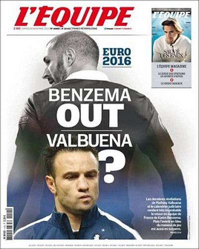 Benzema sẽ bị loại khỏi tuyển Pháp nếu thừa nhận có tội