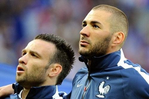 Benzema và Valbuena là bạn thân ngoài đời và đồng đội ở tuyển Pháp