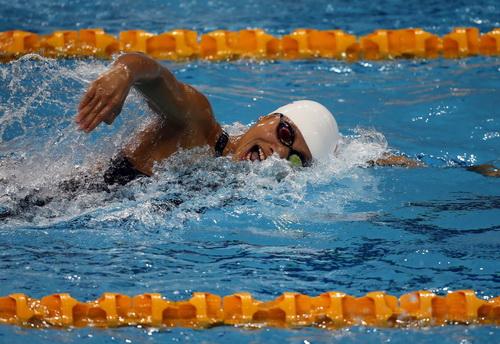Ánh Viên giành HCĐ cự ly 800m tự do tại Mungyeong