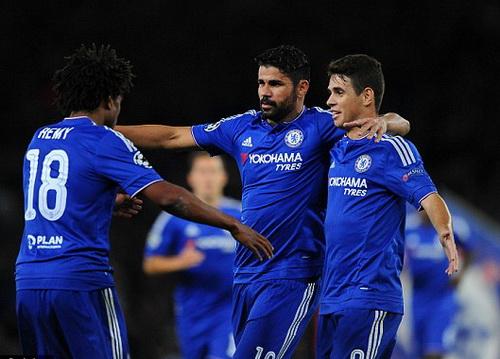 Những khoảnh khắc tỏa sáng hiếm hoi của Diego Costa