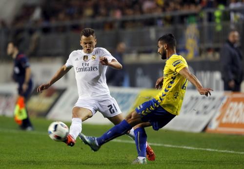 Cheryshev ghi bàn mở tỉ số cho Real Madrid trước Cadiz