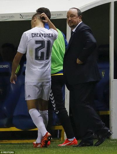 Cheryshev và Real Madird cúi đầu Cúp Tây Ban Nha