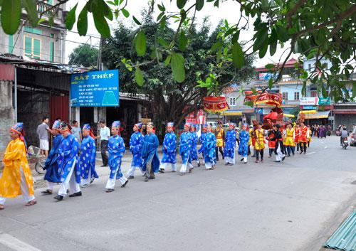 Một lễ hội dân gian ở huyện Mỹ Đức, TP Hà Nội. (Ảnh của Hiệp hội Làng nghề Việt Nam; chỉ mang tính minh họa)