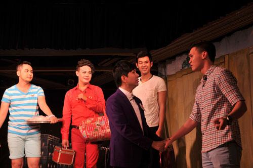 """Vở """"Xóm trọ 3D"""" sẽ được phát triển phần 2 cho mùa kịch Tết tại Kịch Phú Nhuận"""