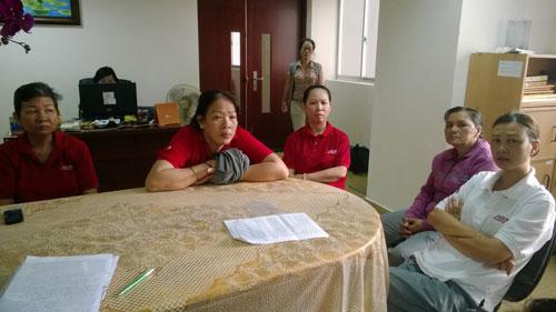 Người lao động bị xâm phạm quyền lợi đến Báo Người Lao Động yêu cầu can thiệp
