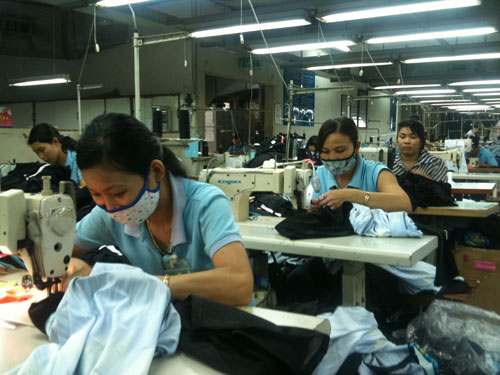 Cơ chế đối thoại linh hoạt tại Công ty TNHH Shing Việt góp phần giải quyết các vấn đề liên quan đến đời sống, việc làm của tập thể công nhân