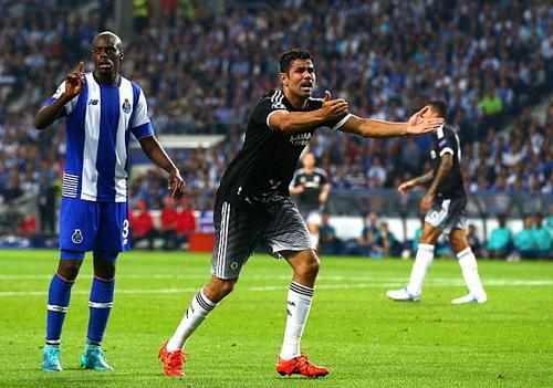 Diego Costa ưa tranh cãi, đem đến nhiều phiền phức cho Chelsea