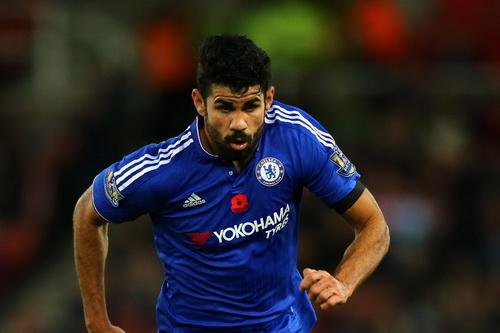 Costa mới ghi được 3 bàn thắng từ đầu mùa