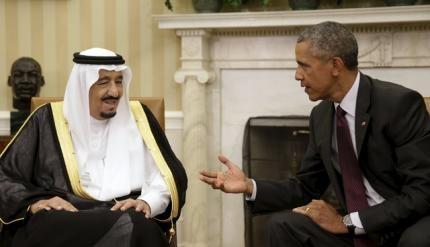 """Vua Ả Rập Saudi mang """"cung điện"""" dát vàng đến thăm Mỹ"""