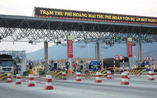 Trạm thu phí Hoàng Mai trên tuyến đường dự án BOT Nghi Sơn-Cầu Giát - Ảnh: VnEconomy