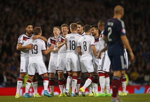 Niềm vui chiến thắng của tuyển Đức