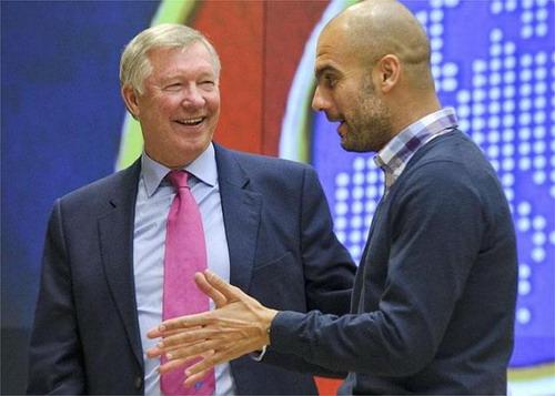 Ferguson rất ngưỡng mộ tài năng của đồng nghiệp trẻ Guardiola