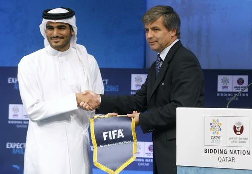 Qatar trở thành nước chủ nhà World Cup 2022 một phần nhờ hậu thuẫn của Platini