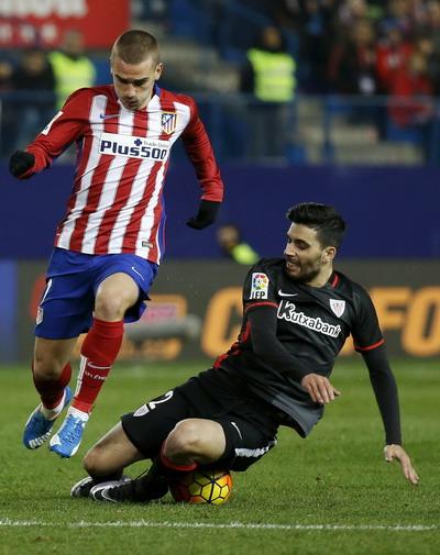 Antoine Griezmann là chân sút chủ lực của Atletico