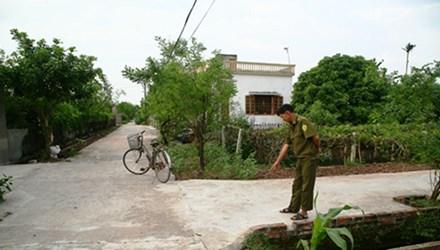 Khu vực nơi các đối tượng nã súng hoa cải vào nhóm người phụ nữ - Ảnh: Dân trí