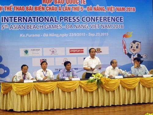 Buổi họp báo giới thiệu ABG 5 được tổ chức tại Đà Nẵng
