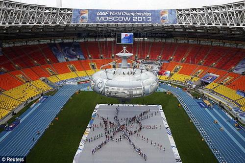 Sân từng đăng cai Giải Vô địch điền kinh thế giới 2013